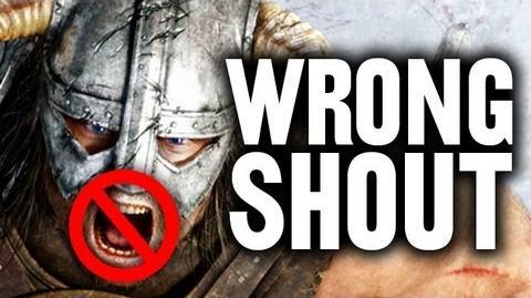 Wrong Shout