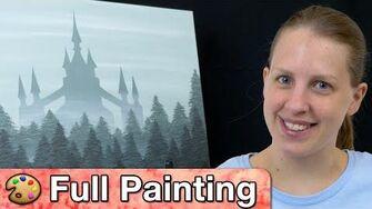 "Zelda Twilight Princess - ""Misty Castle"" Painting (Full Version)"