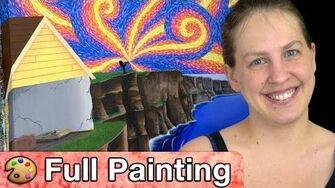 """Earthbound Onett - """"Onett Jazz"""" Painting (Full Version)"""