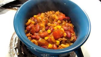 One Pot Chili Pasta (Day 2278 - 2 19 16)