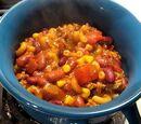 One Pot Chili Pasta (Day 2278 - 2/19/16)