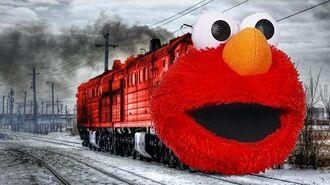 Elmo Train Outta Nowhere!