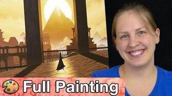"""Journey - """"Golden Sands"""" Painting (Full Version)"""