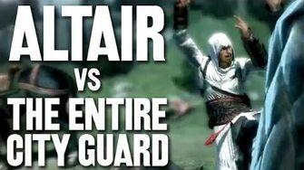 Altair VS The Entire City Guard