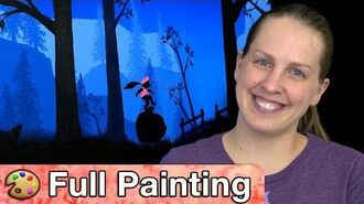 "Donkey Kong Country Tropical Freeze - ""Autumn Summits"" Painting (Full Version)"