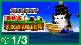 Let's-a Have A Party! - DK's Jungle Adventure -1 (Mario Party -1)