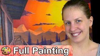 "Firewatch - ""Shoshone"" Painting (Full Version)"