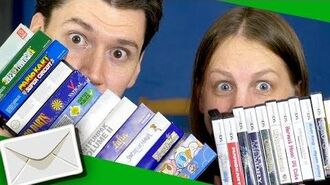 """VlogMail ✉️ """"100+ GAMEBOY & NINTENDO DS GAMES!"""" • August 2017"""