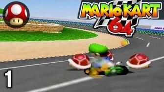 Stephen VS Mal - Mario Kart 1 - MK64 Mushroom Cup