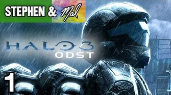 "Halo 3 ODST 1 - ""The Halo Game Where You'll Die More Often"""