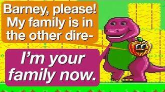 Barney's New Family Member