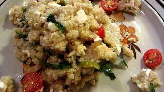 Greek Quinoa (Day 2057 - 7 13 15)