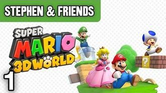 "Super Mario 3D World -1 - ""Welcome to Cat World!"""