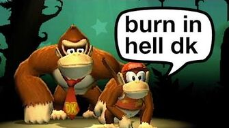 Burn in Hell, Donkey Kong