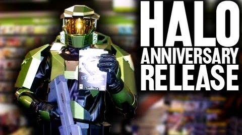 Halo Anniversary Release Party (Day 720 - 11 14 11)