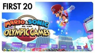 Mario & Sonic at the Olympic Games Tokyo 2020 - First20