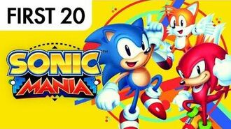 Sonic Mania - First20 (w Mal)