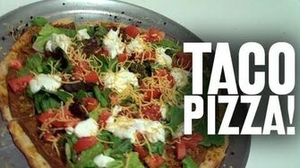 Taco Pizza! (Day 659 - 9 14 11)