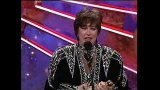Kathy Bates Wins Best Actress Motion Picture Drama - Golden Globes 1991