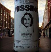 Betty Ripsom Missing Poster