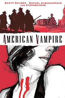 American Vampire Cover -1