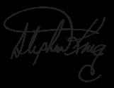 Stephen King Signature