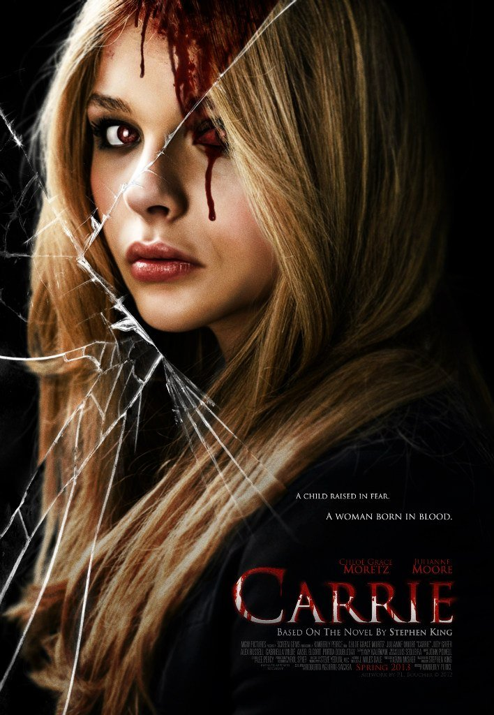 Carrie 2013 BluRay 720p 900MB Dual Audio ( Hindi – English ) ESubs MKV