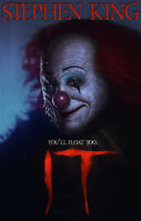 It by Stephen King - Book Cover V2