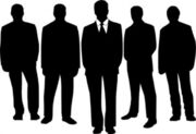 Men in black clip art 20475