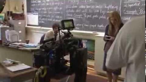 CARRIE - Behind the scenes 1 Chloe Moretz