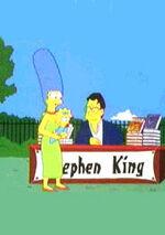 Stephen king et marge simpson