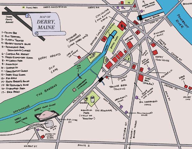 Image Map of Derryjpg Stephen King Wiki FANDOM powered by Wikia