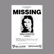 Patrick Hockstetter Missing Poster