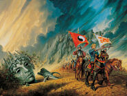 The path of daggers cover by darrell k sweet by arcanghell-d4lddy8