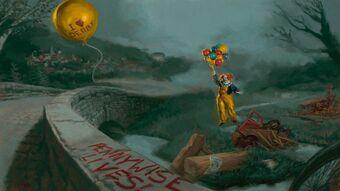 pennywise true form deadlights  It (Creature) | Stephen King Wiki | Fandom
