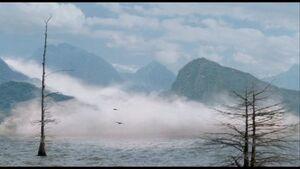 Mist on Lake