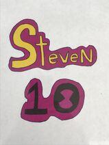 Steven 10 logo drawn