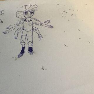 Скетч на бумаге от Сапфир