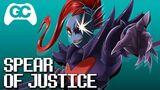 Undertale - Spear of Justice (Undyne's Theme) VGR Dubstep Remix - GameChops