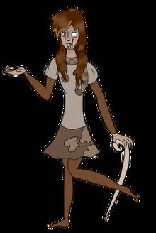 Песчаник с маскировкой в виде человека (KingCrimsonaSlunka)
