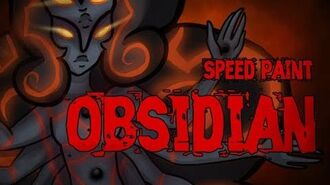 Speed Paint-Obsidian (Steven Universe)-0