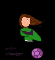 Julia Ametyst w kolorach