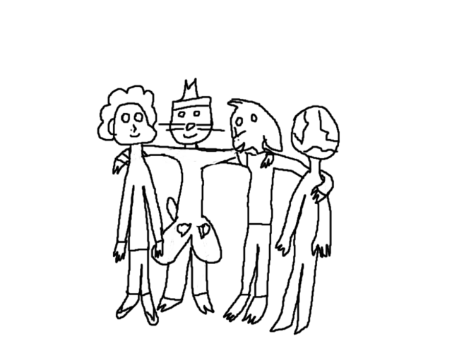 File:A horrible drawing of our quartet.png