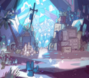 Ametiszt szobája
