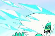 Malachit jégszilánk