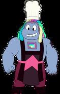 Bismuth with Chef Hat (Reupload)