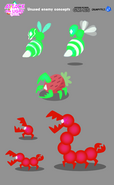 Attack the Light Unused Enemy Concepts