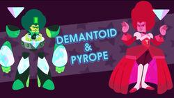 DemantoidPyrope
