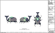 Earth Beetle Model Sheet