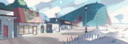 Steven's Lion Boardwalk Bg